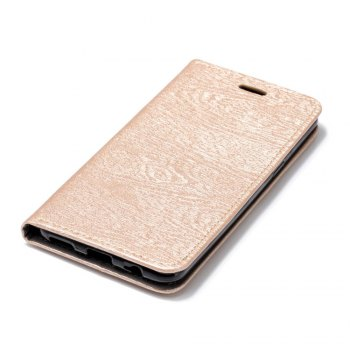 for OnePlus 5T Tree Skin PU Wallet Leather Case -  GOLDEN