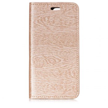 for OnePlus 5T Tree Skin PU Wallet Leather Case - GOLDEN GOLDEN