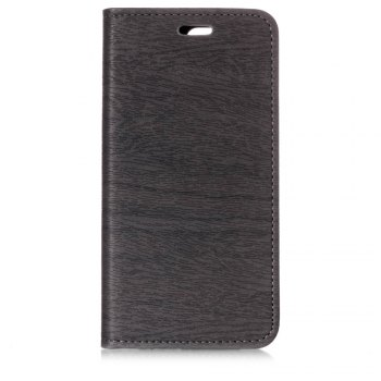 for OnePlus 5T Tree Skin PU Wallet Leather Case - GRAY GRAY