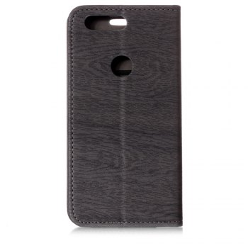 for OnePlus 5T Tree Skin PU Wallet Leather Case - GRAY