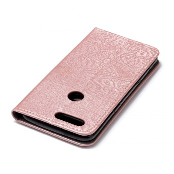 for OnePlus 5T Tree Skin PU Wallet Leather Case -  ROSE GOLD