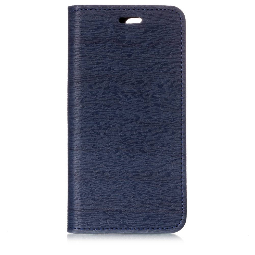 for OnePlus 5T Tree Skin PU Wallet Leather Case - BLUE