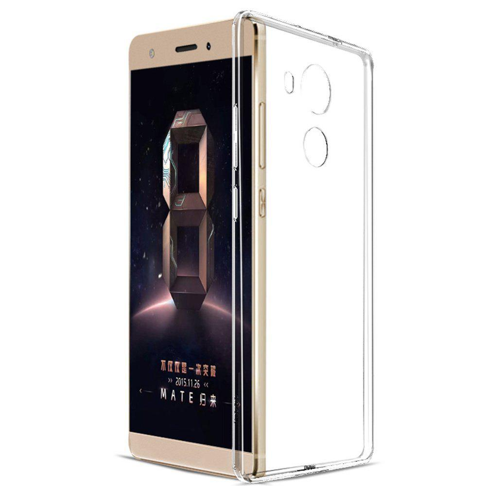 TPU Transparent Soft Shell Phone Case for HuaWei Mate8 - TRANSPARENT