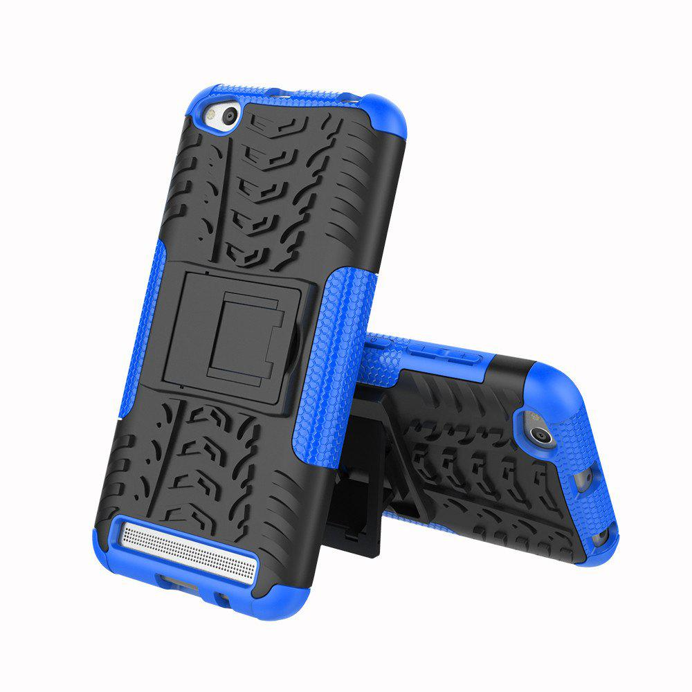 Cover Case for Redmi 5A Shock Proof And Antiskid TPU + PC Material Cool Tattoos Stents - BLUE