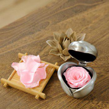 Valentine's Day Handmade Preserved Flower Rose Immortal Flowers Gifts - PINK