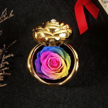 Valentine's Day Handmade Preserved Flower Rose Immortal Flowers Gifts - COLOUR