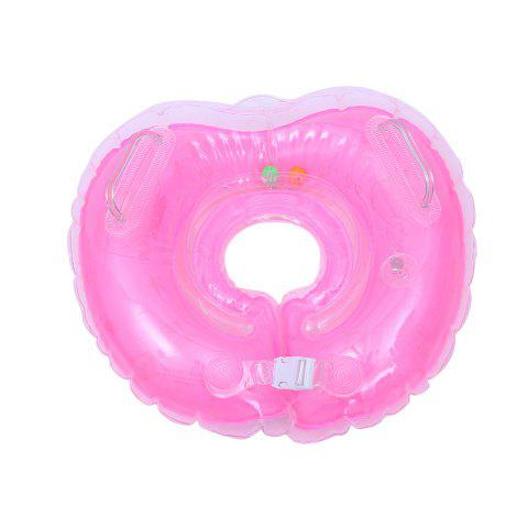 Summer Sea Baby Swimming Inflatable Bathing Neck Float - PINK