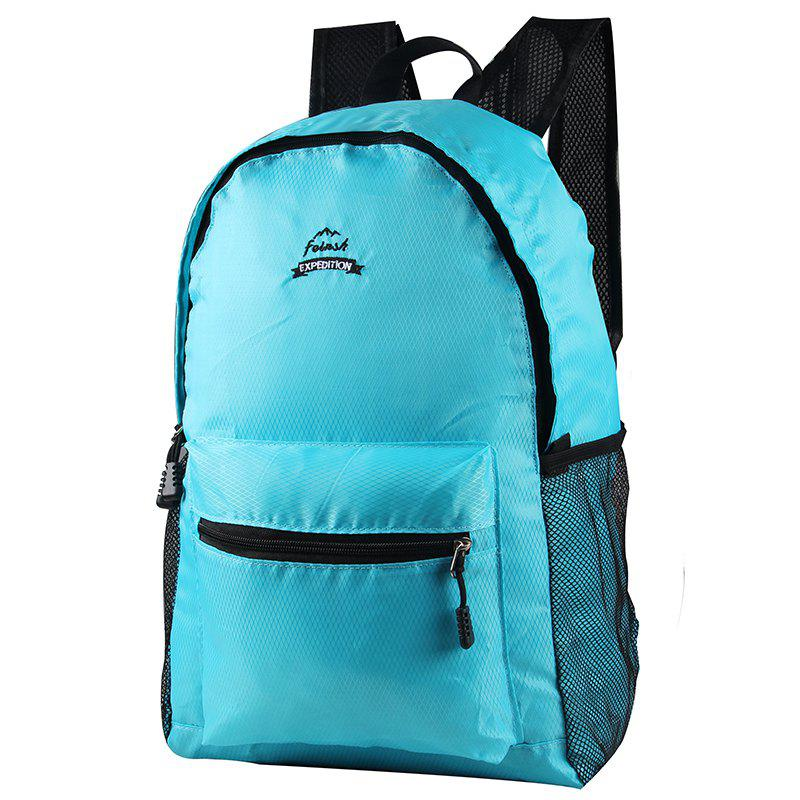 FEIRSH Outdoor Mountaineering Backpackbackpacking Sport Tactical Backpack - BLUE