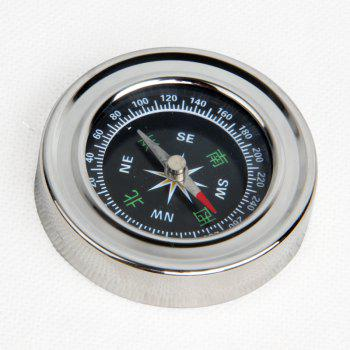 FEIRSH Outdoor Travel Supplies Mountaineering Compass Compass Guidance Tool Teaching Compass Telescope Accessories - SLIVER SLIVER