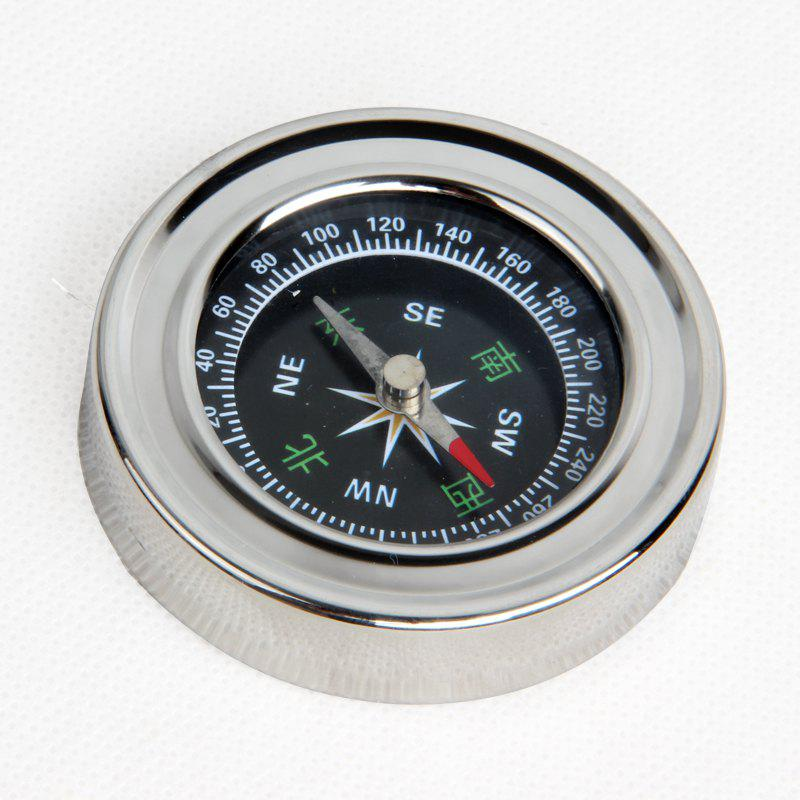 FEIRSH Outdoor Travel Supplies Mountaineering Compass Compass Guidance Tool Teaching Compass Telescope Accessories - SLIVER