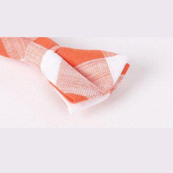 Leisure Time England Men'S Flax Bow - ORANGE