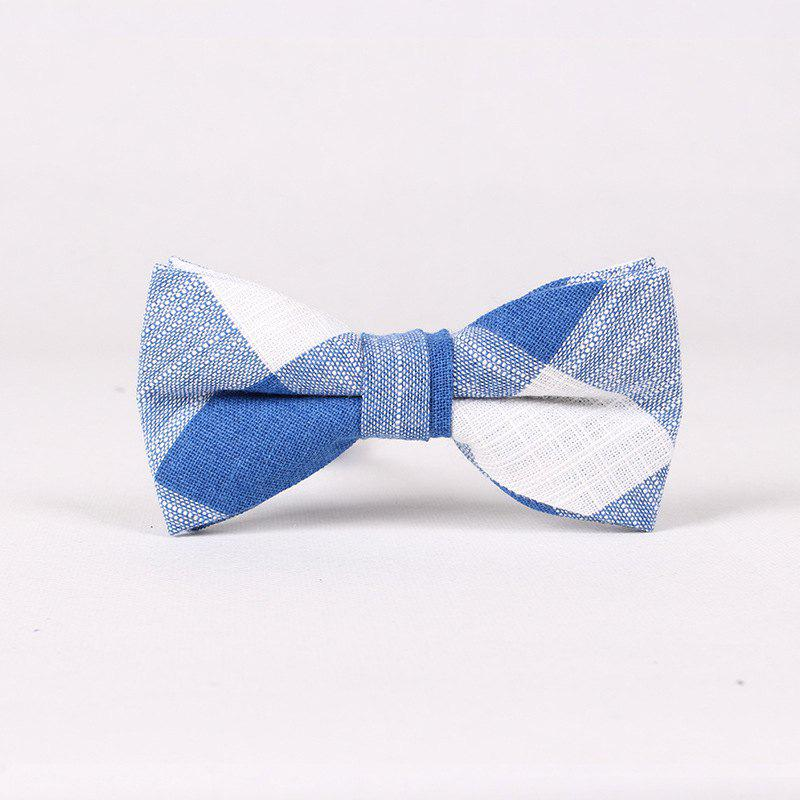 Leisure Time England Men'S Flax Bow - BLUE