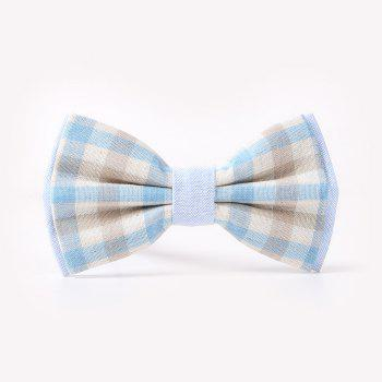 Casual Tie for Men'S Lattices - PINKISH BLUE PINKISH BLUE
