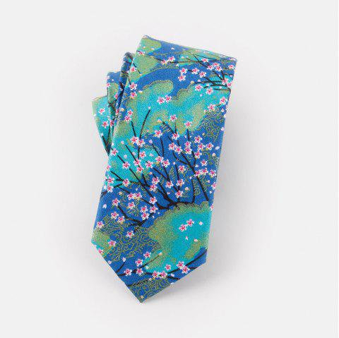 Narrow Version of Men'S Casual Cotton Tie 6CM - CASPIAN