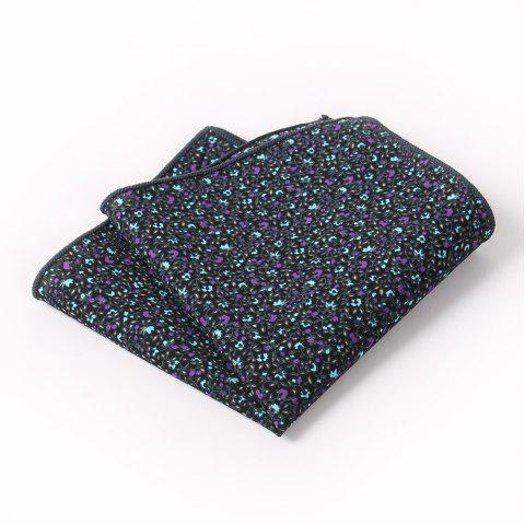 Men'S Leisure Suit Pocket Napkin - STONE BLUE