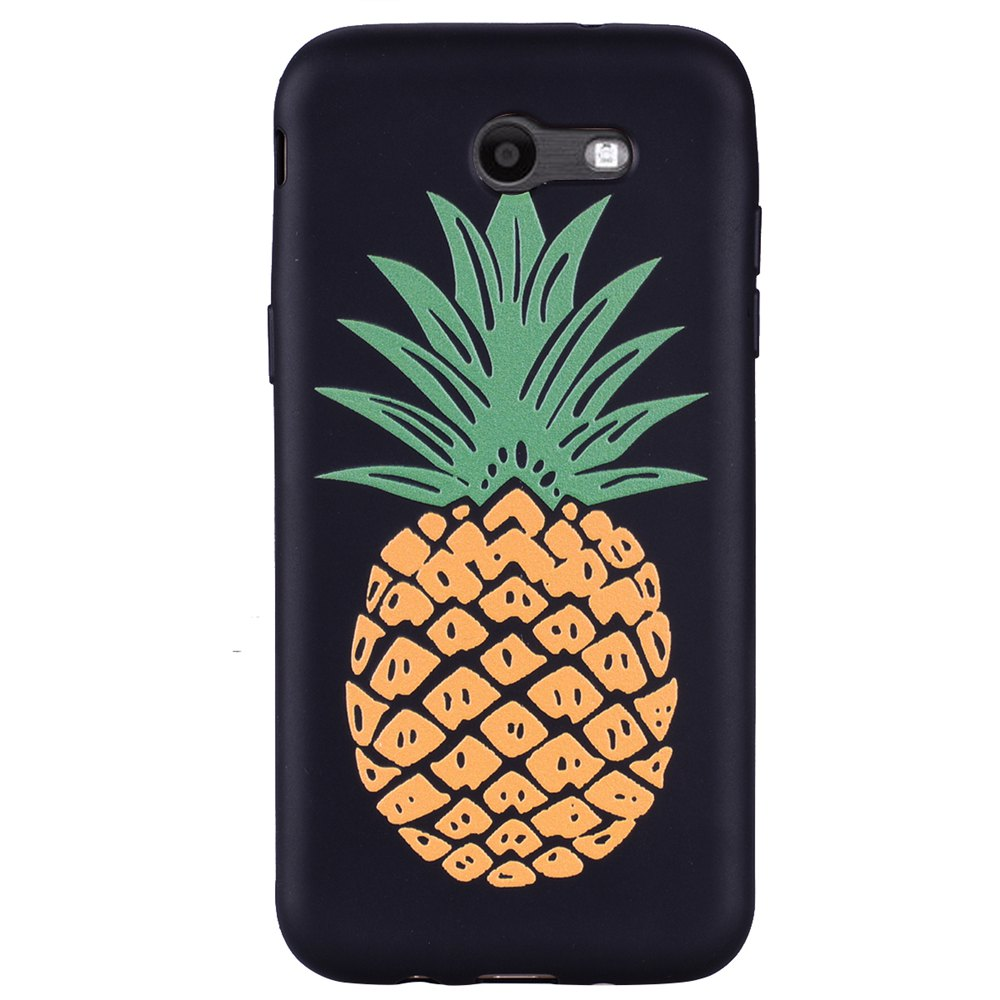 Case For Samsung Galaxy J3 2017 J320 U.S. of Pineapple TPU Mobile Phone Case - YELLOW