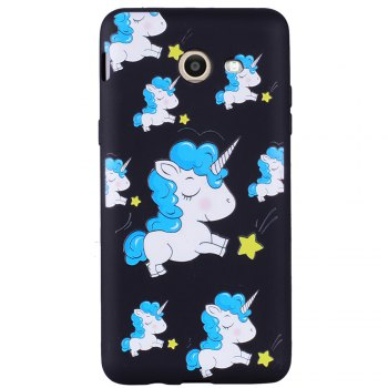 Case For Samsung Galaxy J5 2017 J520 u.s.  of The Unicorn TPU Phone Case - BLUE