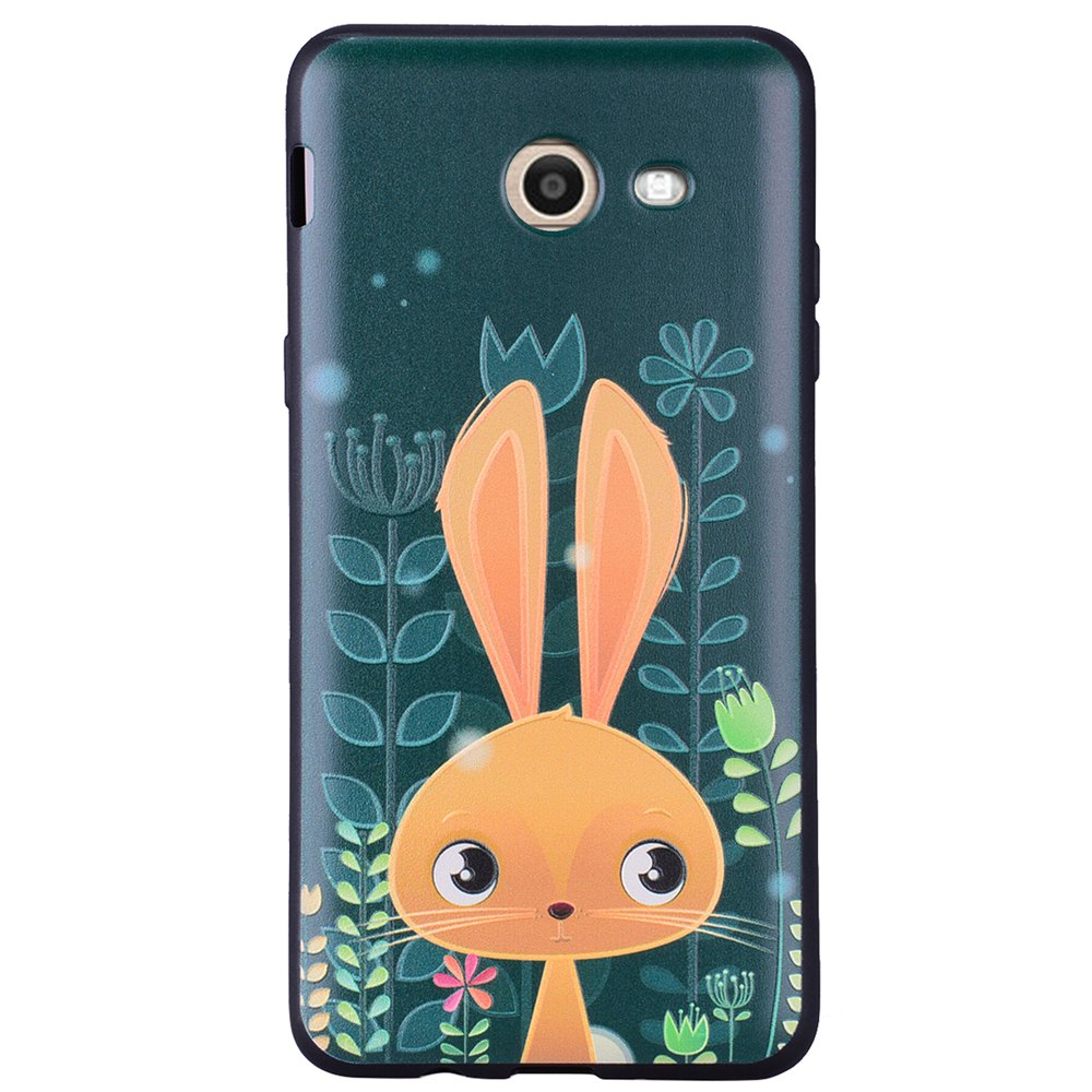 Case For Samsung Galaxy J5 2017 J520 U.S. of The Cute Rabbit TPU Phone Case - GREEN