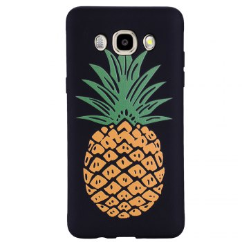 Case For Samsung Galaxy J5 2016 J510 Pineapple TPU Mobile Phone Protection Shell - YELLOW YELLOW