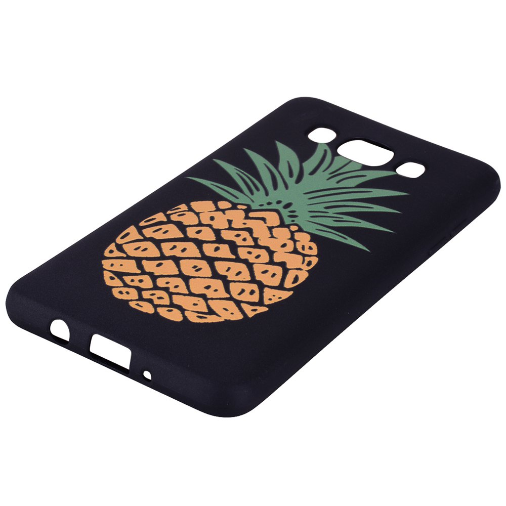 Case For Samsung Galaxy J5 2016 J510 Pineapple TPU Mobile Phone Protection Shell - YELLOW
