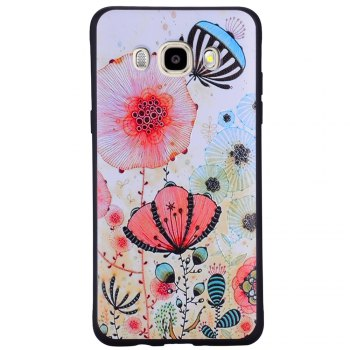 Case For Samsung Galaxy J5 2016 J510 Powder TPU Phone Protection Shell - PINK PINK