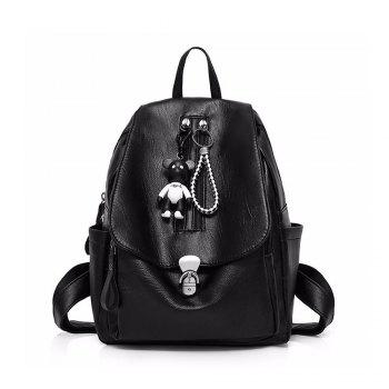 Women PU Leather Backpacks For Teenage Girls