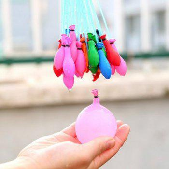 37Pcs Summer Quick Ammo Magic Water Balloons Bombs Toys Kids for Garden Game Party Supplies - multicolorCOLOR 1 BUNCH