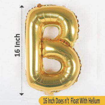 HAPPY BIRTHDAY Thickened Multicolored Foil Air-filled Balloons for Birthday Party Anniversary - multicolorCOLOR 1 SET