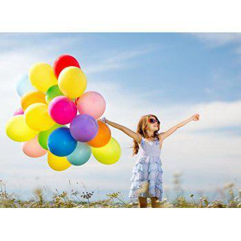 Latex Balloons 160PCs Party Balloons Assorted Color Thick Premium Quality 12 inches Decorations for Birthday Wedding Graduation Ceremony - multicolorCOLOR 160PCS
