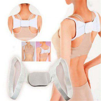 Hunchback Correction Belt Correction with Beautiful Body Posture Hunchback Posture Belt - WHITE