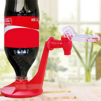 Coke Cola Bottle Dispenser Upside Down Drinking Fountains Beverage Switch Pressure Tool - RED RED