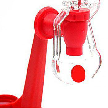 Coke Cola Bottle Dispenser Upside Down Drinking Fountains Beverage Switch Pressure Tool -  RED