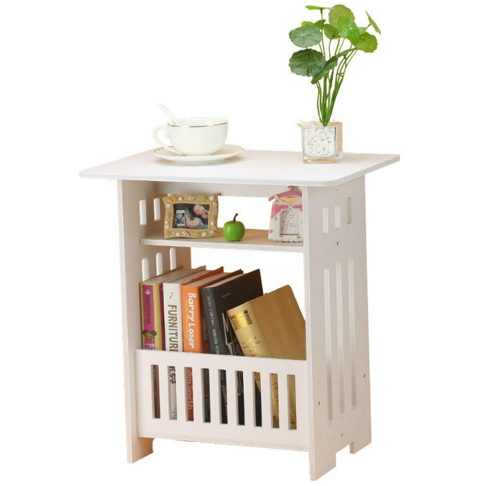 European Style  Coffee Table Bedroom Balcony Leisure Magazine Storage  Home Decoration - WHITE