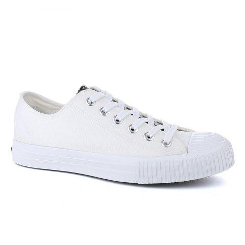 87360dd30 Warrior Men S Sneakers Lacing Fashion Classic All Match Sneakers - WHITE 41