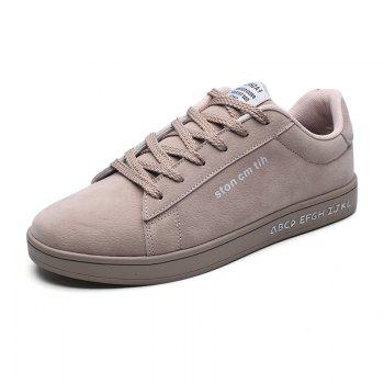 New Spring and Autumn Men'S Fashion Lightweight Casual Shoes - KHAKI 39