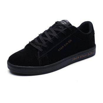 New Spring and Autumn Men'S Fashion Lightweight Casual Shoes - BLACK 43