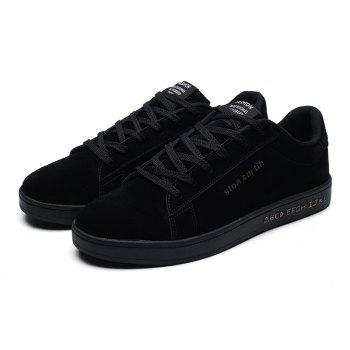 New Spring and Autumn Men'S Fashion Lightweight Casual Shoes - BLACK 41