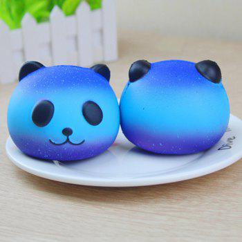 Cute Squishy Slow Rising Soft Toy for Stress Relief Time Killing - COLOUR