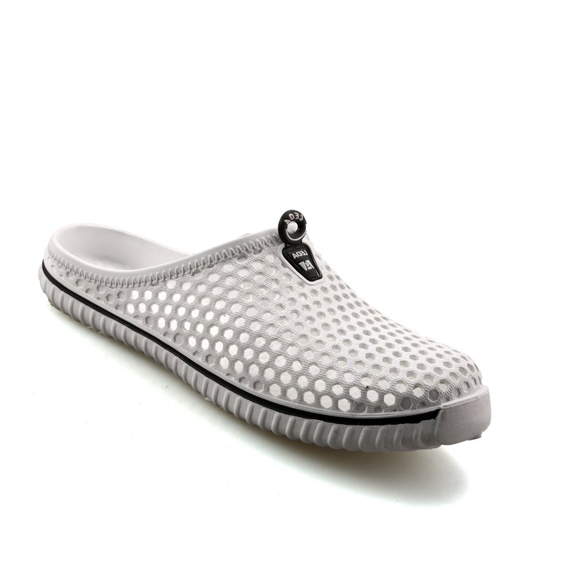 Slippers Beach Shoes Hollow Out Breathable Couples - WHITE 37