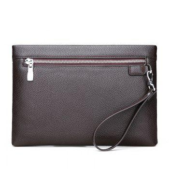 Simple Casual Trend Classic Clutch Bag - BROWN