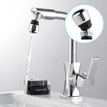 New 360 Rotate Swivel Faucet Nozzle Filter Adapter Water Saving Tap Aerator Diffuser - AS THE PICTURE