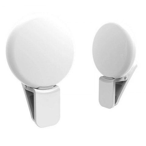 LED External Fill Light Appearance Beautification Selfie Lights Flashes and Accessories Photographic - WHITE