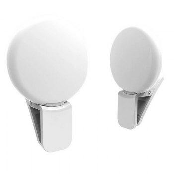 LED External Fill Light Appearance Beautification Selfie Lights Flashes and Accessories Photographic - WHITE WHITE