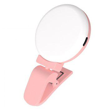 LED External Fill Light Appearance Beautification Selfie Lights Flashes and Accessories Photographic - PINK PINK
