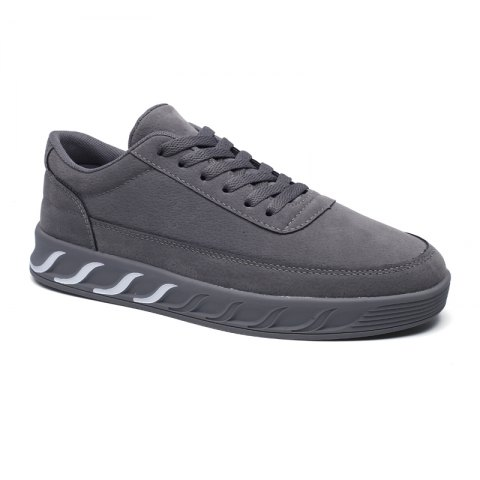 The New Thick Men'S Shoes - GRAY 44