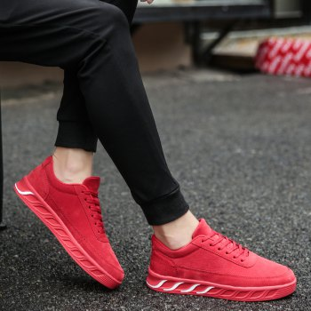 The New Thick Men'S Shoes - RED 42