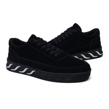 The New Thick Men'S Shoes - BLACK BLACK