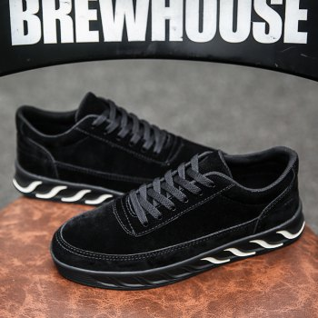 The New Thick Men'S Shoes - BLACK 42