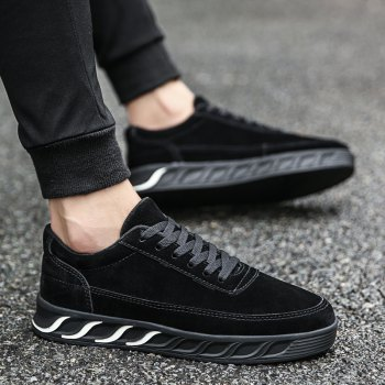 The New Thick Men'S Shoes - BLACK 40