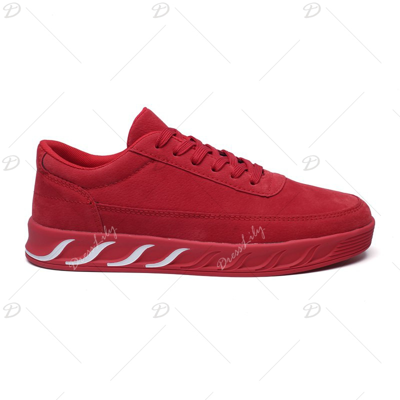 The New Thick Men'S Shoes - RED 43